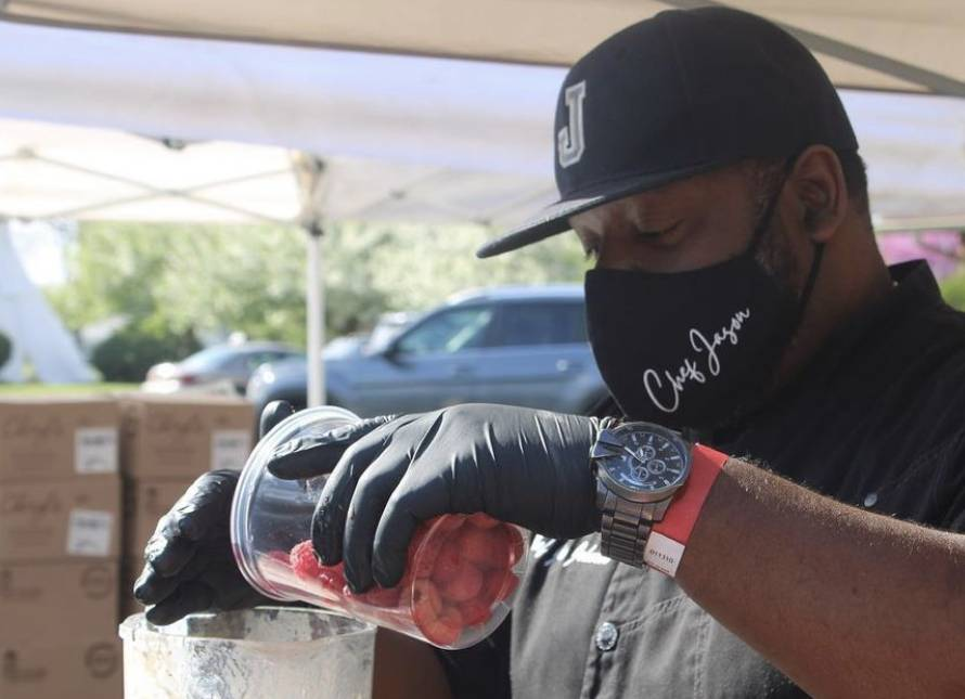 Chef Jason Johnson provides Food Therapy at FACCES